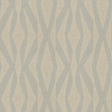 Almond Geometric Drapery and Upholstery Fabric by Stroheim