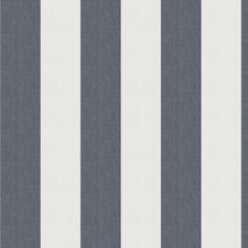 Navy Stripes Drapery and Upholstery Fabric by Fabricut