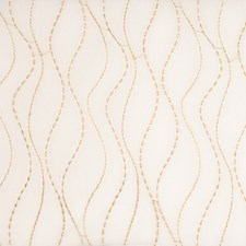 Caramel Embroidery Drapery and Upholstery Fabric by Fabricut