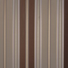Cocoa Stripes Drapery and Upholstery Fabric by Fabricut