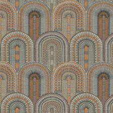 Mezquita Embroidery Drapery and Upholstery Fabric by S. Harris