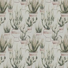 Saguaro/Clay Embroidery Drapery and Upholstery Fabric by Vervain