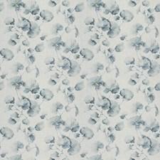 Azure Asian Drapery and Upholstery Fabric by Fabricut