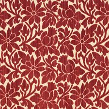 Rose Floral Drapery and Upholstery Fabric by Vervain
