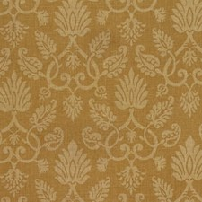 Mustard Print Pattern Drapery and Upholstery Fabric by Vervain