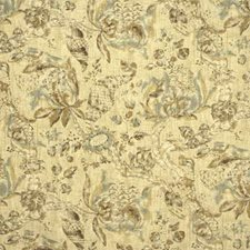 Gold/Wood Print Drapery and Upholstery Fabric by G P & J Baker