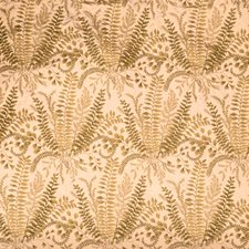Rosewater Leaves Drapery and Upholstery Fabric by Vervain