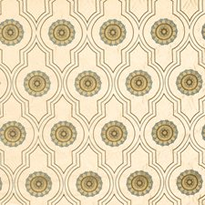 Aquahaze Embroidery Drapery and Upholstery Fabric by Vervain