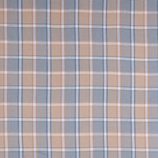 Cashew Check Drapery and Upholstery Fabric by Stroheim