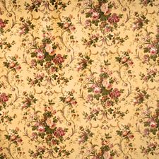 Plum Floral Drapery and Upholstery Fabric by Trend