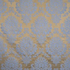 Robins Egg Damask Drapery and Upholstery Fabric by Trend