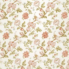 Blush Jacobean Drapery and Upholstery Fabric by Trend