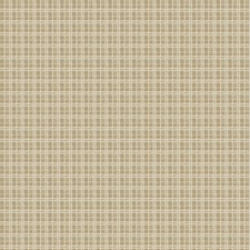 Taupe Check Drapery and Upholstery Fabric by Fabricut