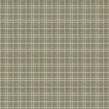 Riverstone Check Drapery and Upholstery Fabric by Stroheim
