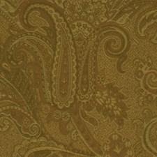 Nutmeg Botanical Foliage Drapery and Upholstery Fabric by RM Coco