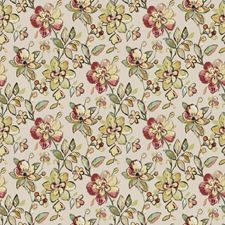 Rose Blush Floral Drapery and Upholstery Fabric by Trend
