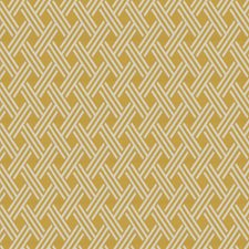 Goldenrod Lattice Drapery and Upholstery Fabric by Fabricut