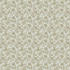 Flax Embroidery Drapery and Upholstery Fabric by Fabricut
