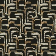 Stone Bronze Embroidery Drapery and Upholstery Fabric by S. Harris