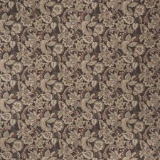 Cocoa Jacobean Drapery and Upholstery Fabric by Fabricut