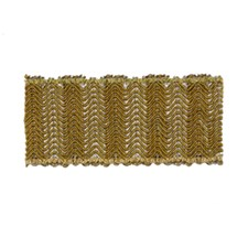 Gilded Drapery and Upholstery Fabric by Robert Allen