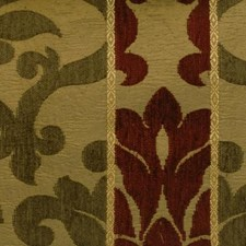 Ruby/olive Drapery and Upholstery Fabric by Duralee