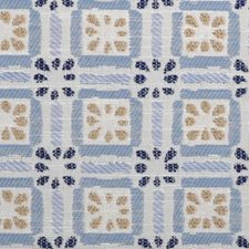 Chambray Geometric Drapery and Upholstery Fabric by Duralee