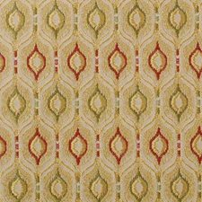 Goldenrod Geometric Drapery and Upholstery Fabric by Duralee