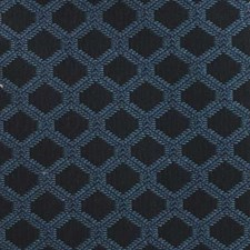 Cobalt Diamond Drapery and Upholstery Fabric by Duralee