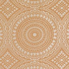 Tangerine Dots Drapery and Upholstery Fabric by Duralee