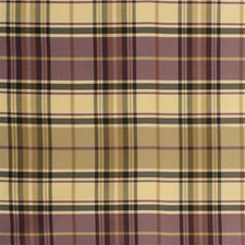 Plum Plaid Drapery and Upholstery Fabric by Kravet