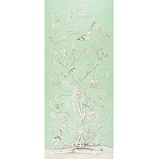 Aquamarine Drapery and Upholstery Fabric by Schumacher
