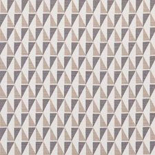 Grey/Sand Drapery and Upholstery Fabric by Schumacher