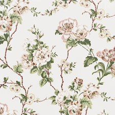 Quiet Pink Drapery and Upholstery Fabric by Schumacher