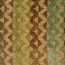Clay/olive Drapery and Upholstery Fabric by Highland Court