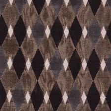 Grey/black Drapery and Upholstery Fabric by Highland Court
