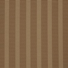 Mocha Stripes Drapery and Upholstery Fabric by Fabricut