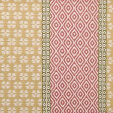 Pink/Green Diamond Drapery and Upholstery Fabric by Highland Court