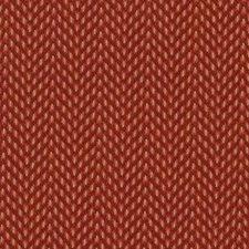 Cherry Herringbone Drapery and Upholstery Fabric by Duralee