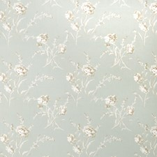 Celadon Floral Drapery and Upholstery Fabric by Fabricut
