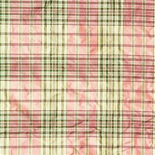 Ruby/Hu Plaid Drapery and Upholstery Fabric by Lee Jofa