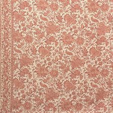 Coral Ethnic Drapery and Upholstery Fabric by Lee Jofa