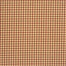 Spice/Wine Check Drapery and Upholstery Fabric by Lee Jofa