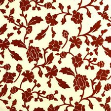 Tangerine Botanical Drapery and Upholstery Fabric by Lee Jofa