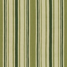 Green Stripes Drapery and Upholstery Fabric by Lee Jofa