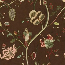 Sable Botanical Drapery and Upholstery Fabric by Lee Jofa