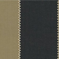 Navy Embroidery Drapery and Upholstery Fabric by Lee Jofa