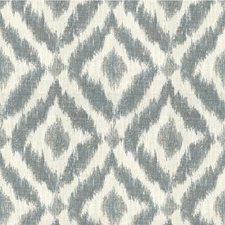 Ivory/Chambray Diamond Drapery and Upholstery Fabric by Lee Jofa