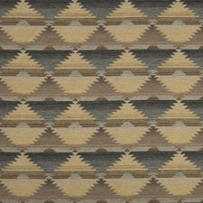 Natural/Noir Ikat Drapery and Upholstery Fabric by Lee Jofa