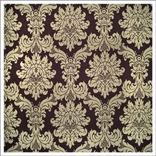 Plum Damask Drapery and Upholstery Fabric by Kravet